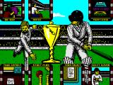 World Cricket ZX Spectrum Main menu