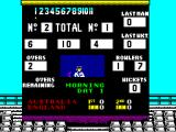 World Cricket ZX Spectrum The match is being played