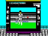 World Cricket ZX Spectrum He hit the ball