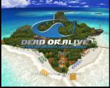 Dead or Alive: Xtreme Beach Volleyball Xbox Main Title