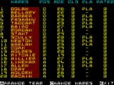 The Match ZX Spectrum Your squad