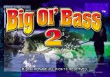 Big Ol' Bass 2 PlayStation Title screen.