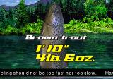 "Big Ol' Bass 2 PlayStation ""The brown trout (Salmo trutta) is an originally European species of salmonid fish."""