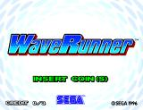 WaveRunner Arcade Title screen