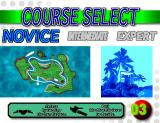 WaveRunner Arcade Course selection screen