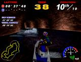 WaveRunner Arcade On the second course, it gets dark as I race through a tunnel