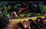 King's Quest V: Absence Makes the Heart Go Yonder! Amiga The evil witch is locked in a safe place, now how do I find the exit?