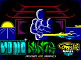 Bionic Ninja ZX Spectrum Loading Screen