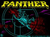 Panther ZX Spectrum Loading Screen