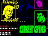 Street Gang ZX Spectrum Loading Screen