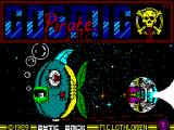 Cosmic Pirate ZX Spectrum Loading Screen