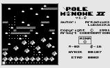 Pole Minowe II Atari 8-bit One step in wrong direction means a certain death