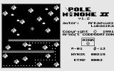 Pole Minowe II Atari 8-bit Blowing out the stone