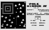 Pole Minowe II Atari 8-bit Hektor is blowing out