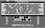 Odwracanka Atari 8-bit Game instruction
