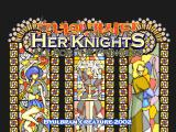 Her Knights: All for the Princess GP32 Title screen