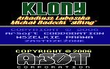 Klony Atari 8-bit Introduction screen