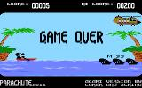 Parachute 2011 Atari 8-bit Game over