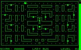 "LadyBug Commodore PET/CBM Starting out, the Ladybug is the ""o"" at the bottom centre"