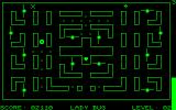 "LadyBug Commodore PET/CBM Caught by an enemy, turning you into an inverted ""X"""