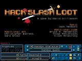 Hack, Slash, Loot Windows Main menu