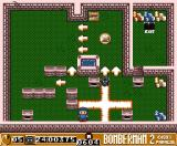 Bomberman 2 MSX Blowing up the monster…