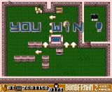 Bomberman 2 MSX You must hurry up in order to complete the levels