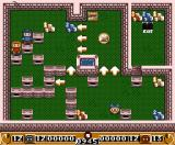 Bomberman 2 MSX Cooperating with a second player