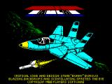 Tomcat ZX Spectrum Loading Screen