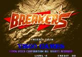 Breakers Arcade Title Screen