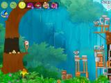 "Angry Birds: Rio iPad Gameplay for the ""Timber Tumble"" including two new and changed ""power-up"" items"