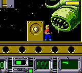 Duke Nukem Game Boy Color Big bad alien