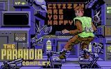 The Paranoia Complex Commodore 64 Loading screen