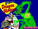 Super Dragon Slayer ZX Spectrum Loading Screen