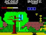 Super Dragon Slayer ZX Spectrum Shoot the flying mushrooms