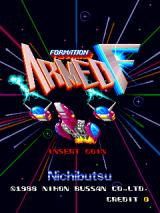 Formation Armed F Arcade Title Screen