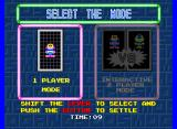 Cosmo Gang: The Puzzle Arcade Select the Mode