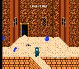 Deadly Towers NES Those blue balls must be avoided at all costs