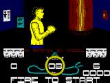 Street Cred Boxing ZX Spectrum Ready to punch