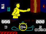 Street Cred Boxing ZX Spectrum Punching the bag