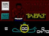 Street Cred Boxing ZX Spectrum Well Done