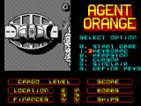 Agent Orange ZX Spectrum Title Screen