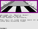 Beatle Quest ZX Spectrum Title Screen