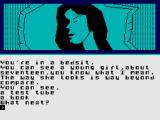 Beatle Quest ZX Spectrum Young girl besides you