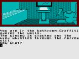 Beatle Quest ZX Spectrum In a bathroom