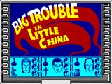 Big Trouble in Little China ZX Spectrum Loading Screen