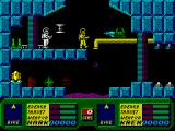 Blood Brothers ZX Spectrum Exploring underground