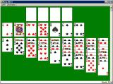 Solitaire King: King Albert Windows 3.x This is the layout for this version of solitaire