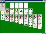 Solitaire King: King Albert Windows 3.x There is a variation to the game, it is accessed via this menu bar drop down box