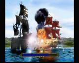 Pirates: The Legend of Black Kat Xbox Loading screens vary of numerous pre-rendered and hand-drawn artwork.